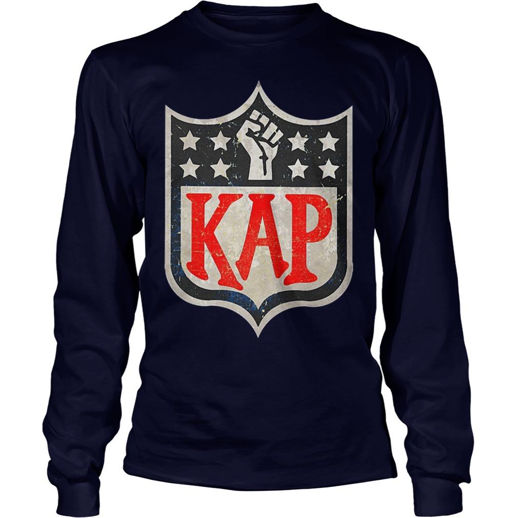Colin Kaepernick in NFL logo shirt Longsleeve Tee Unisex - Colin Kaepernick in NFL logo shirt