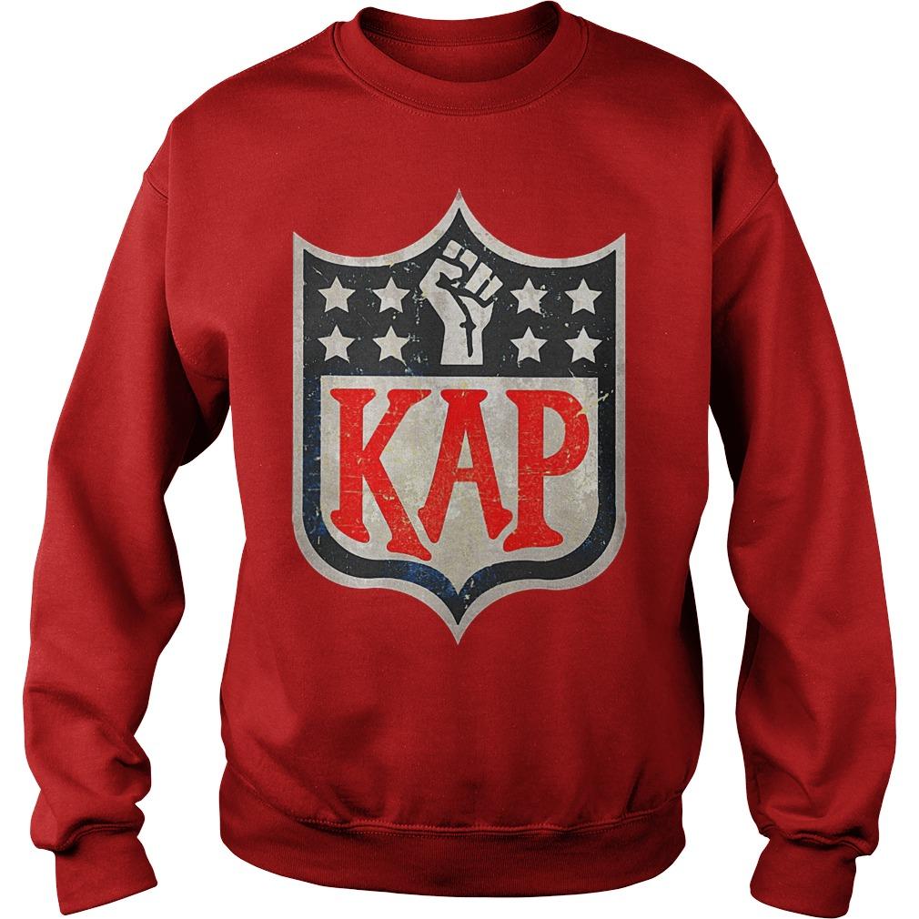 Colin Kaepernick in NFL logo shirt Sweatshirt Unisex - Colin Kaepernick in NFL logo shirt