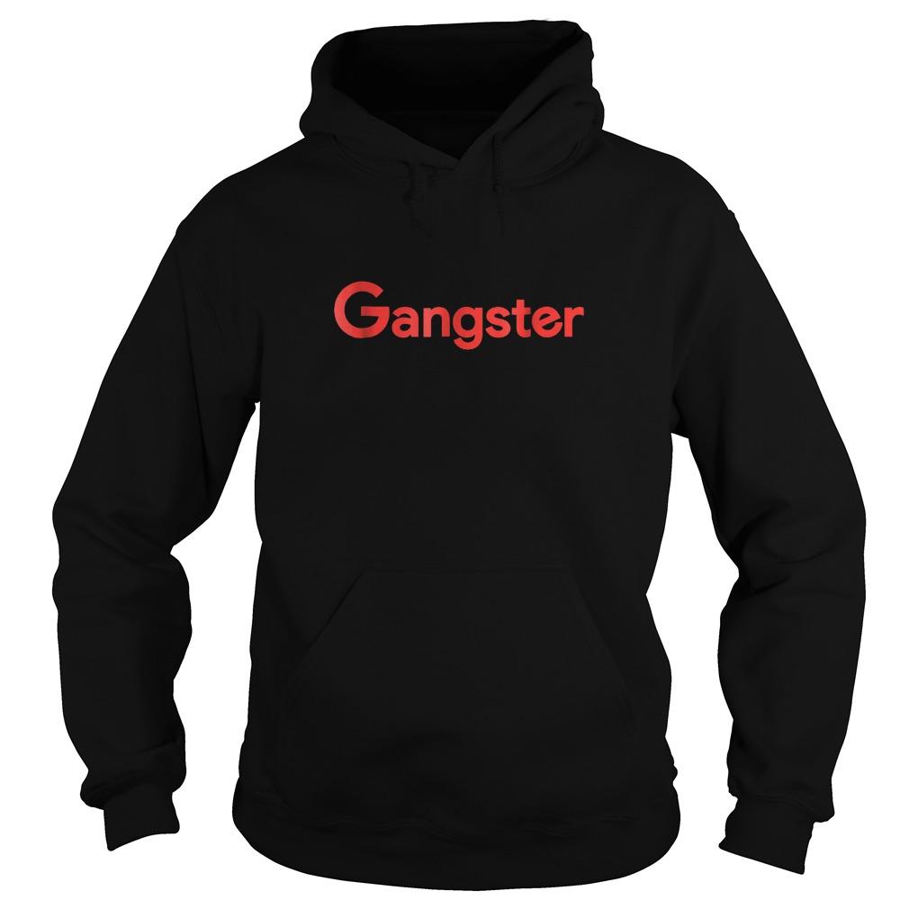Gangster Shirt Hoodie - Gangster Shirt