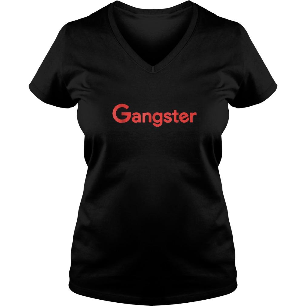 Gangster Shirt Ladies V Neck - Gangster Shirt