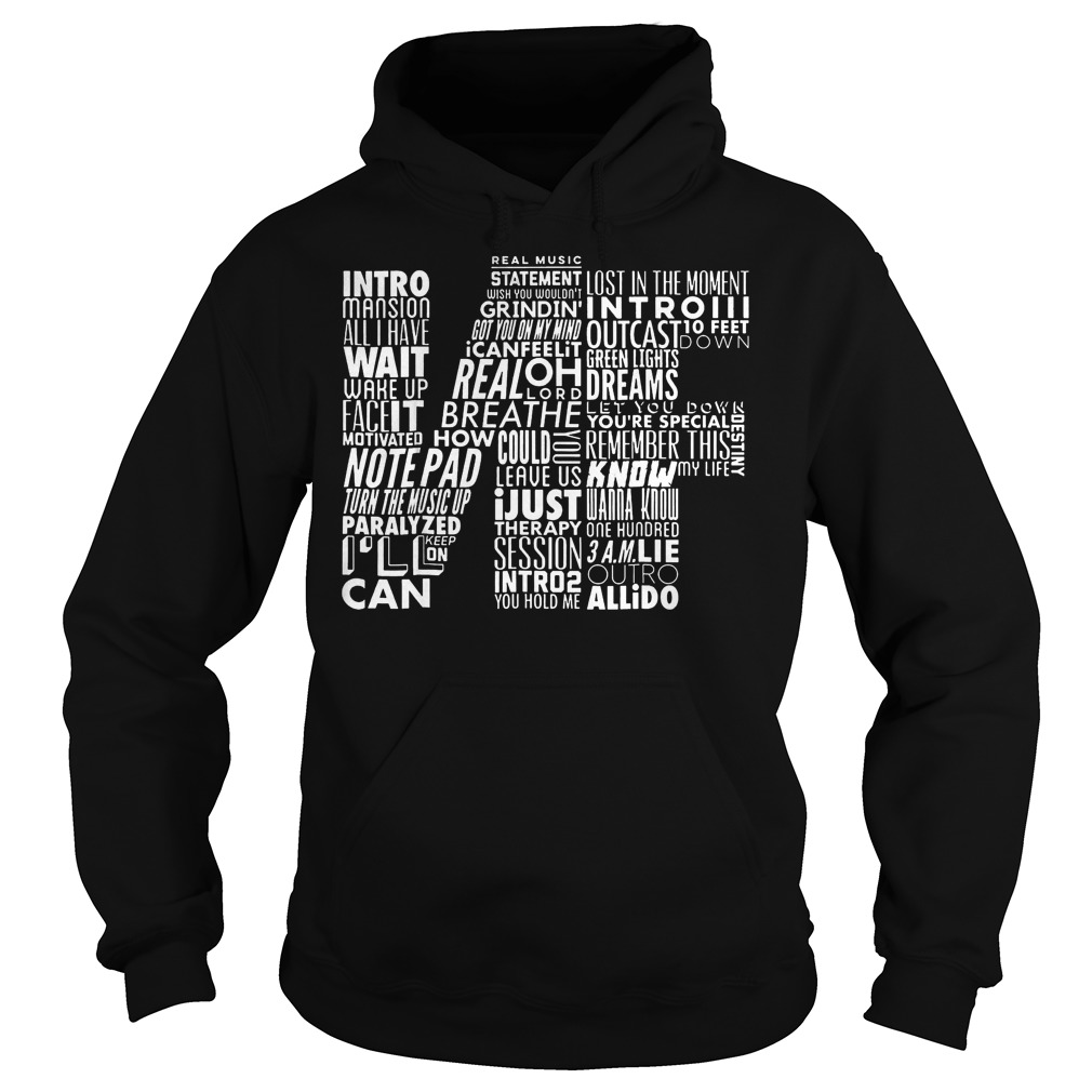 NF Word Collaboration shirt Hoodie - NF Word Collaboration shirt