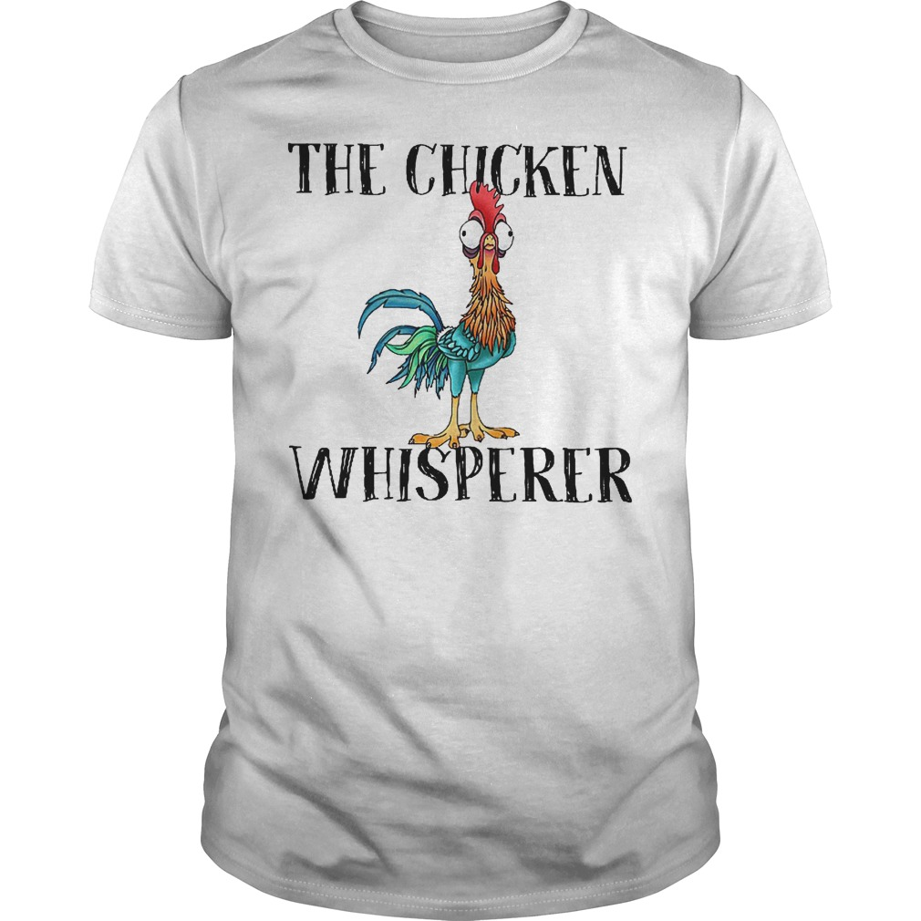 Premium Disney Moana The chicken whisperer shirt