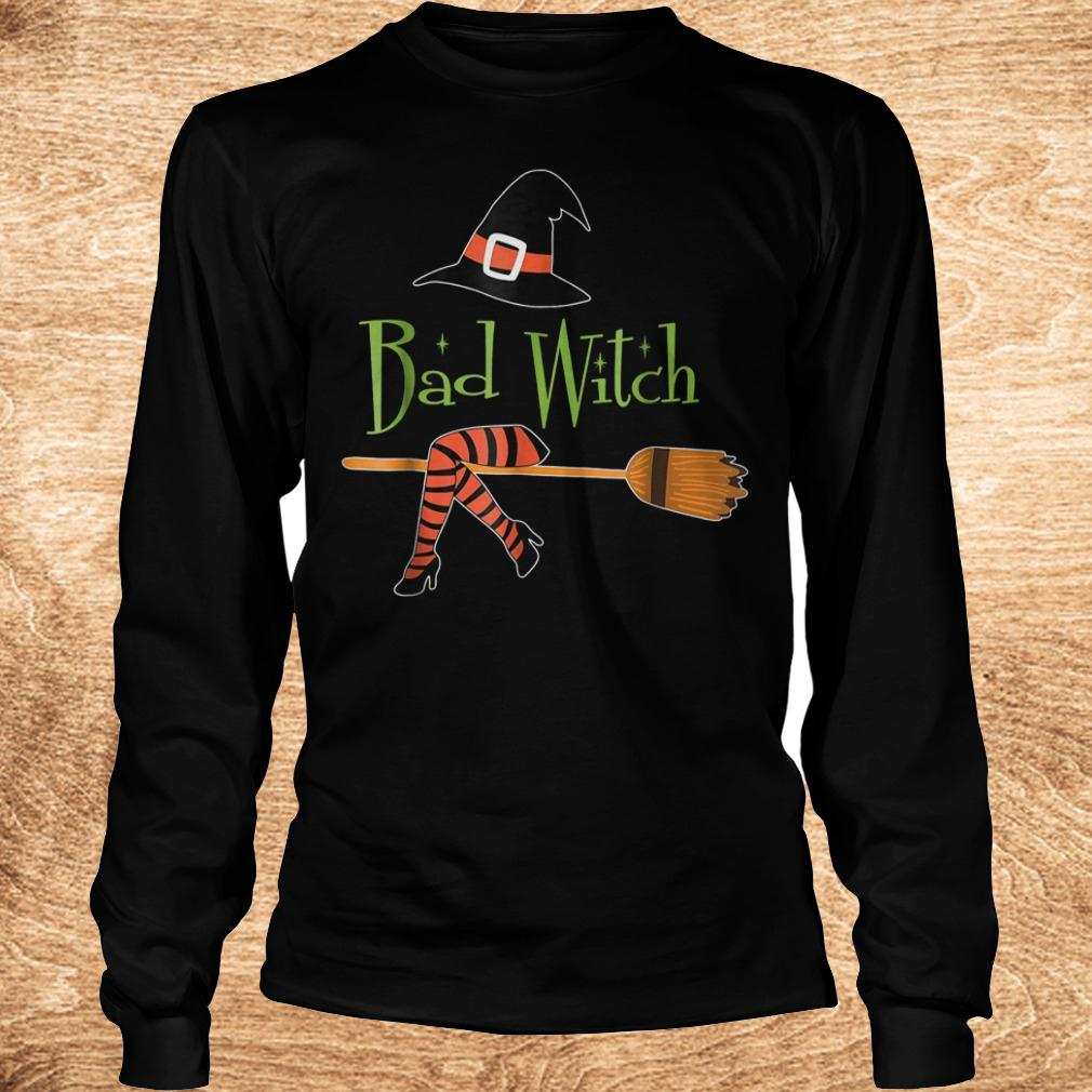 Bad witch halloween shirt Longsleeve Tee Unisex - Bad witch halloween shirt
