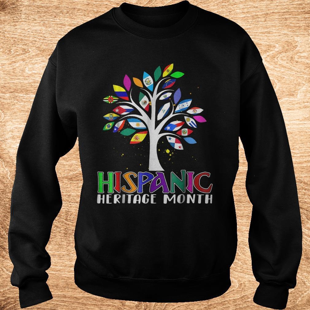 Best Price National Hispanic heritage month tree flag shirt Sweatshirt Unisex - Best Price National Hispanic heritage month tree flag shirt