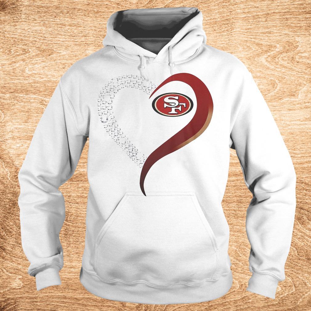 Best Price San Francisco heart blink shirt Hoodie - Best Price San Francisco heart blink shirt