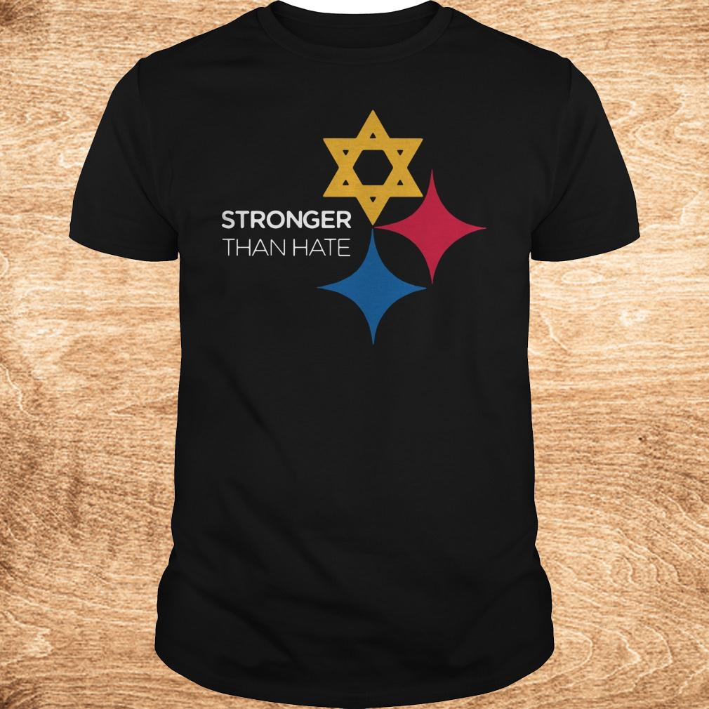 Best price Pittsburgh Stronger Than Hate shirt Classic Guys Unisex Tee - Best price Pittsburgh Stronger Than Hate shirt