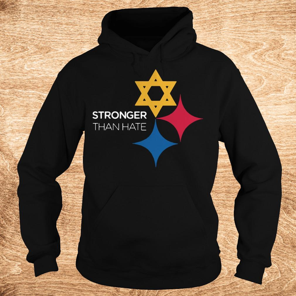 Best price Pittsburgh Stronger Than Hate shirt Hoodie - Best price Pittsburgh Stronger Than Hate shirt