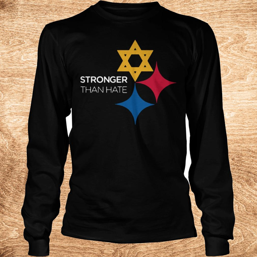 Best price Pittsburgh Stronger Than Hate shirt Longsleeve Tee Unisex - Best price Pittsburgh Stronger Than Hate shirt
