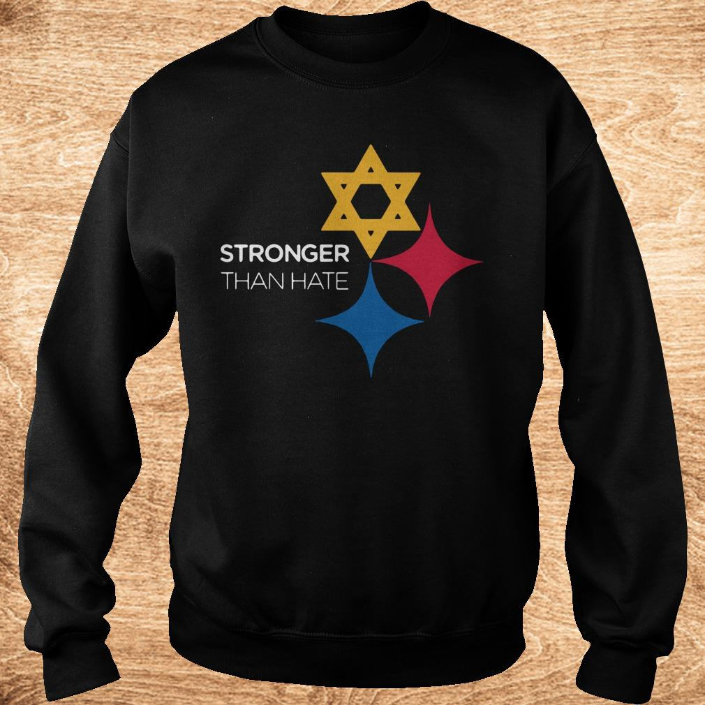 Best price Pittsburgh Stronger Than Hate shirt