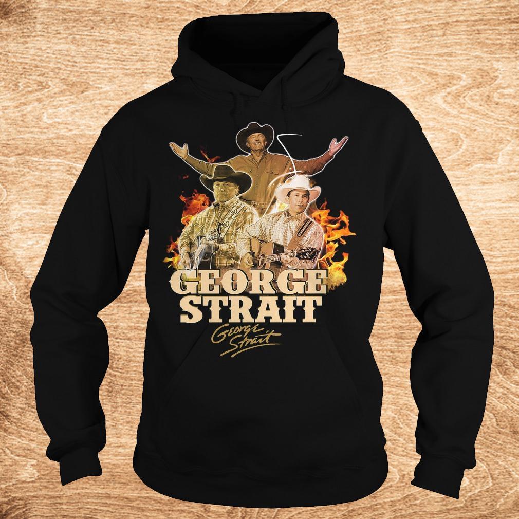 George Strait George Strait shirt shirt Hoodie - George Strait George Strait shirt shirt