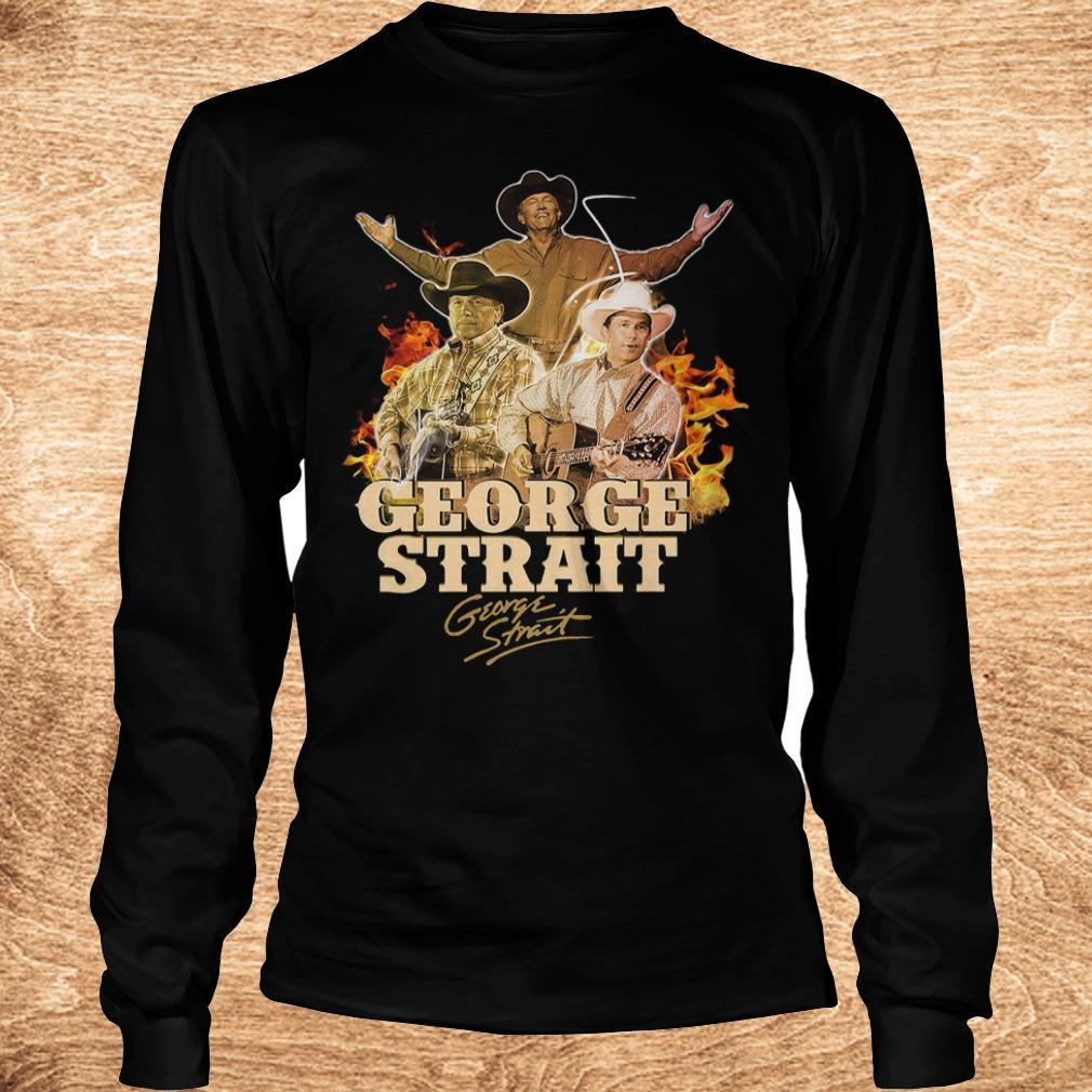 George Strait George Strait shirt shirt Longsleeve Tee Unisex - George Strait George Strait shirt shirt