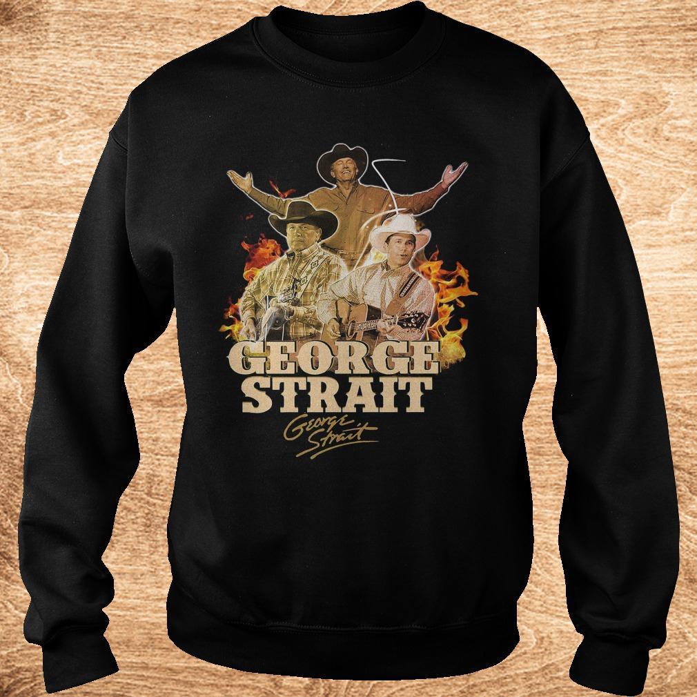 George Strait George Strait shirt shirt Sweatshirt Unisex - George Strait George Strait shirt shirt