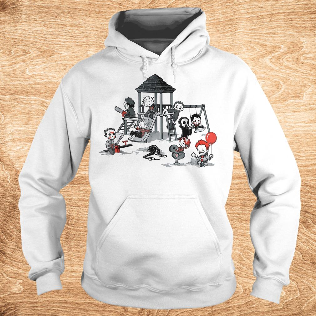 Halloween horror park movie shirt Hoodie - Halloween horror park movie shirt