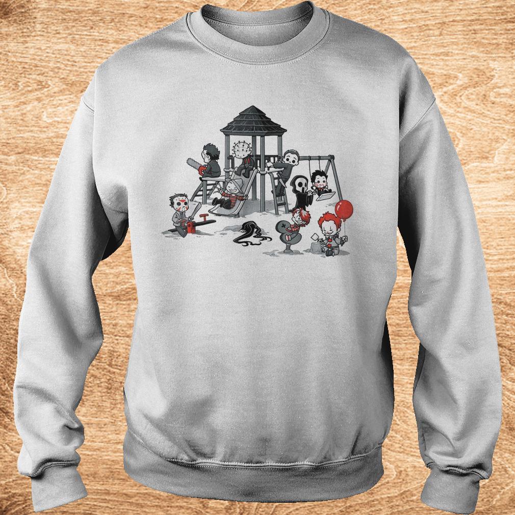 Halloween horror park movie shirt Sweatshirt Unisex - Halloween horror park movie shirt