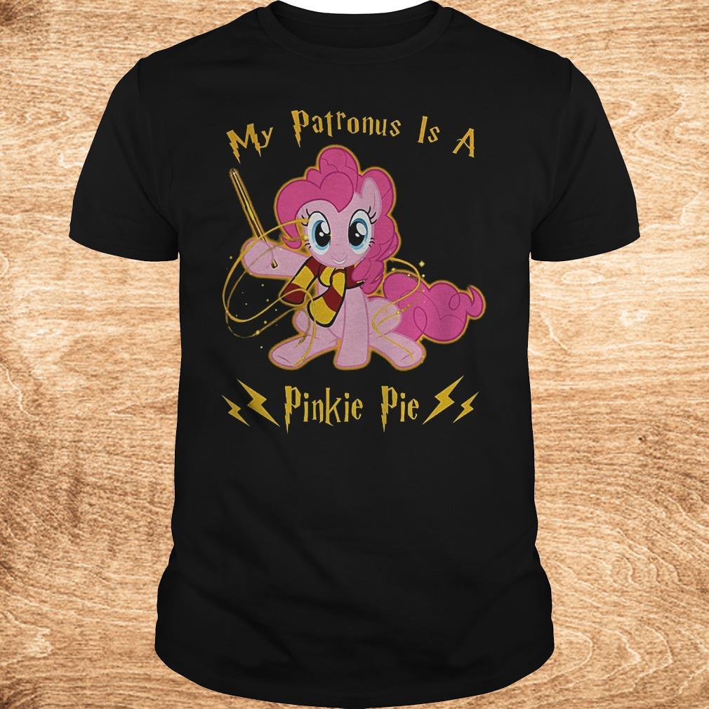 My patronus is a pinkie pie shirt