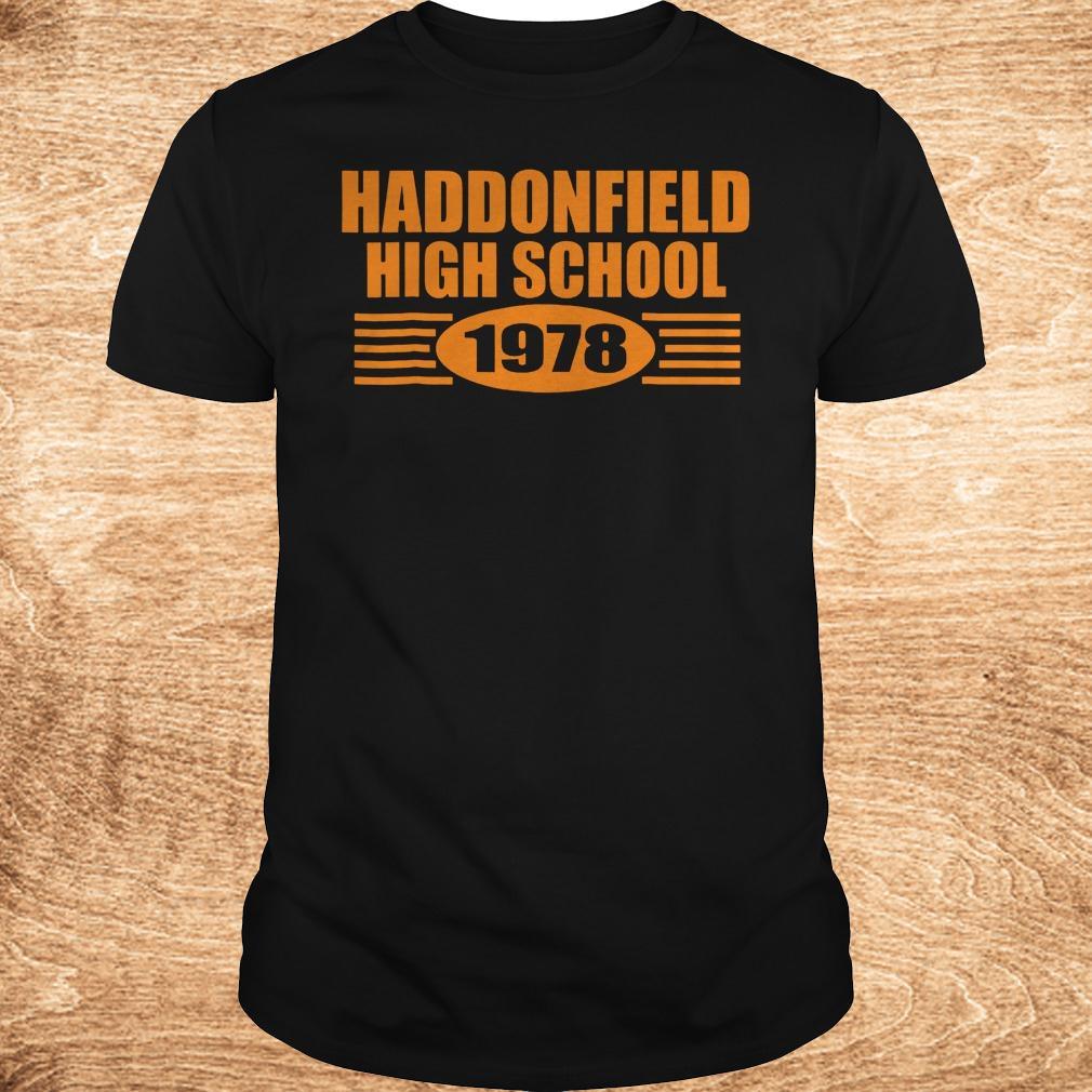 Official Haddonfield high school 1978 shirt