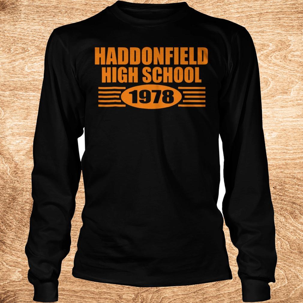 Official Haddonfield high school 1978 shirt Longsleeve Tee Unisex - Official Haddonfield high school 1978 shirt