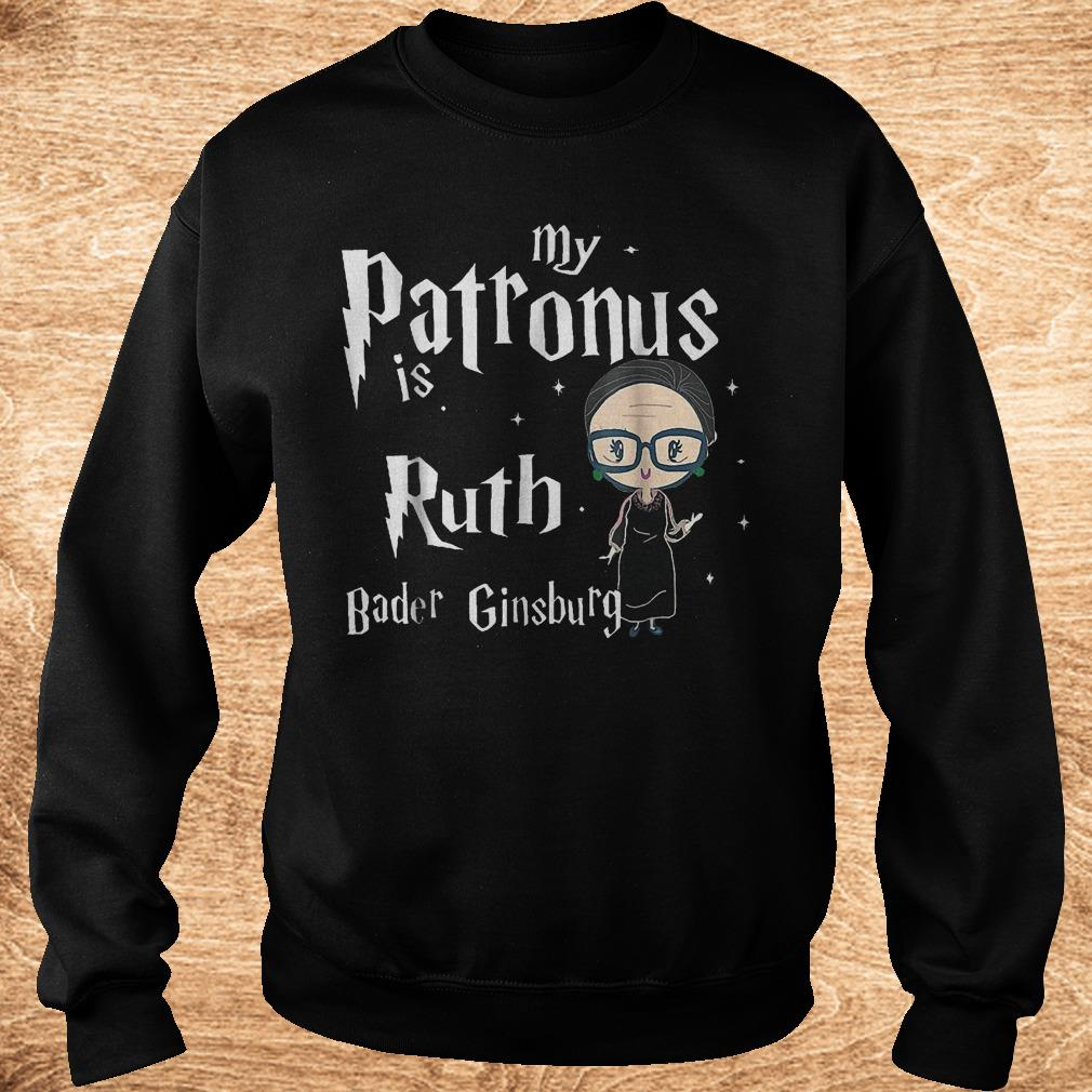 Official My patronus is Ruth bader Ginsburg shirt Sweatshirt Unisex