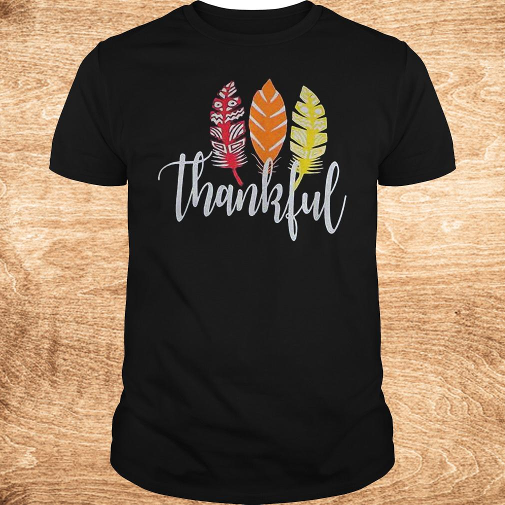 Original Thankful Feather Shirt