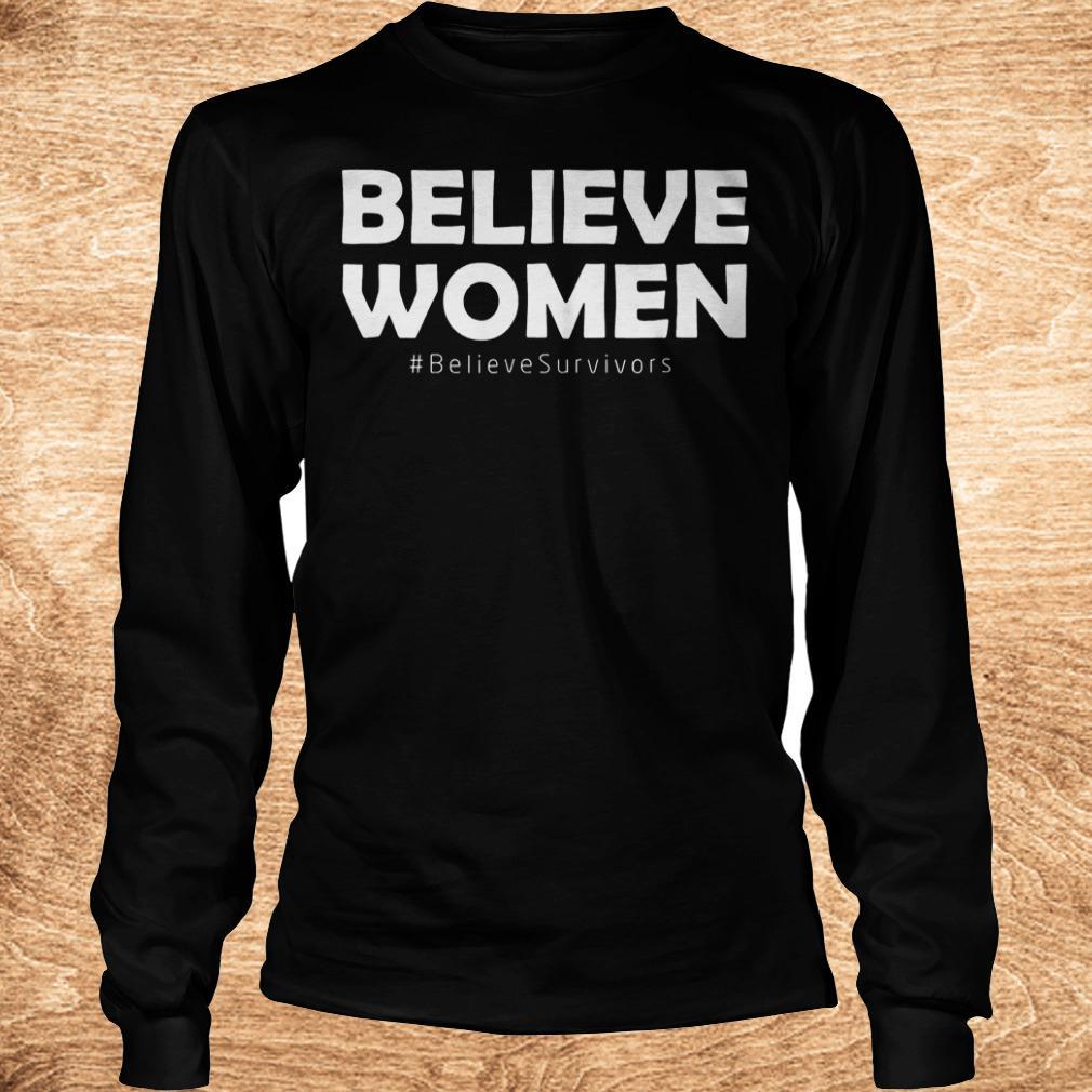 Premium Believe women believesurvivors shirt Longsleeve Tee Unisex - Premium Believe women believesurvivors shirt