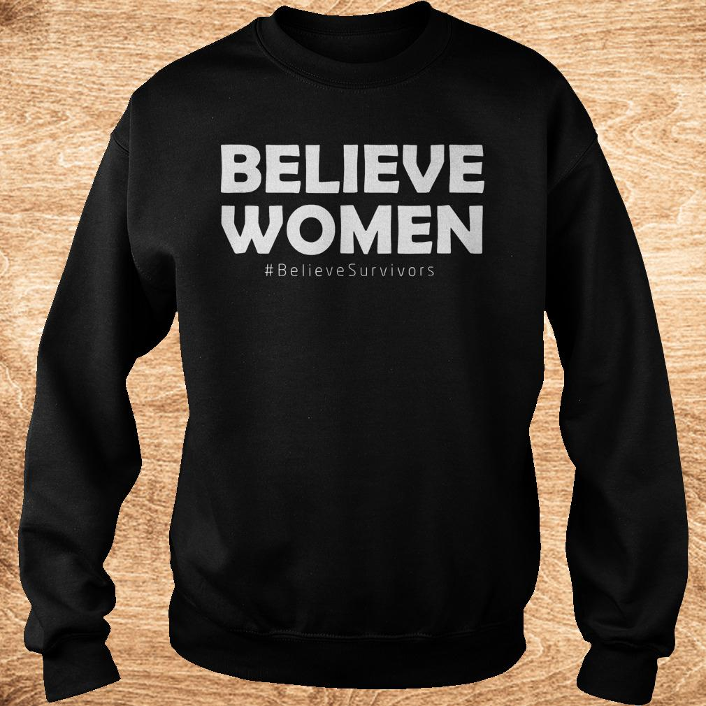 Premium Believe women believesurvivors shirt Sweatshirt Unisex - Premium Believe women believesurvivors shirt