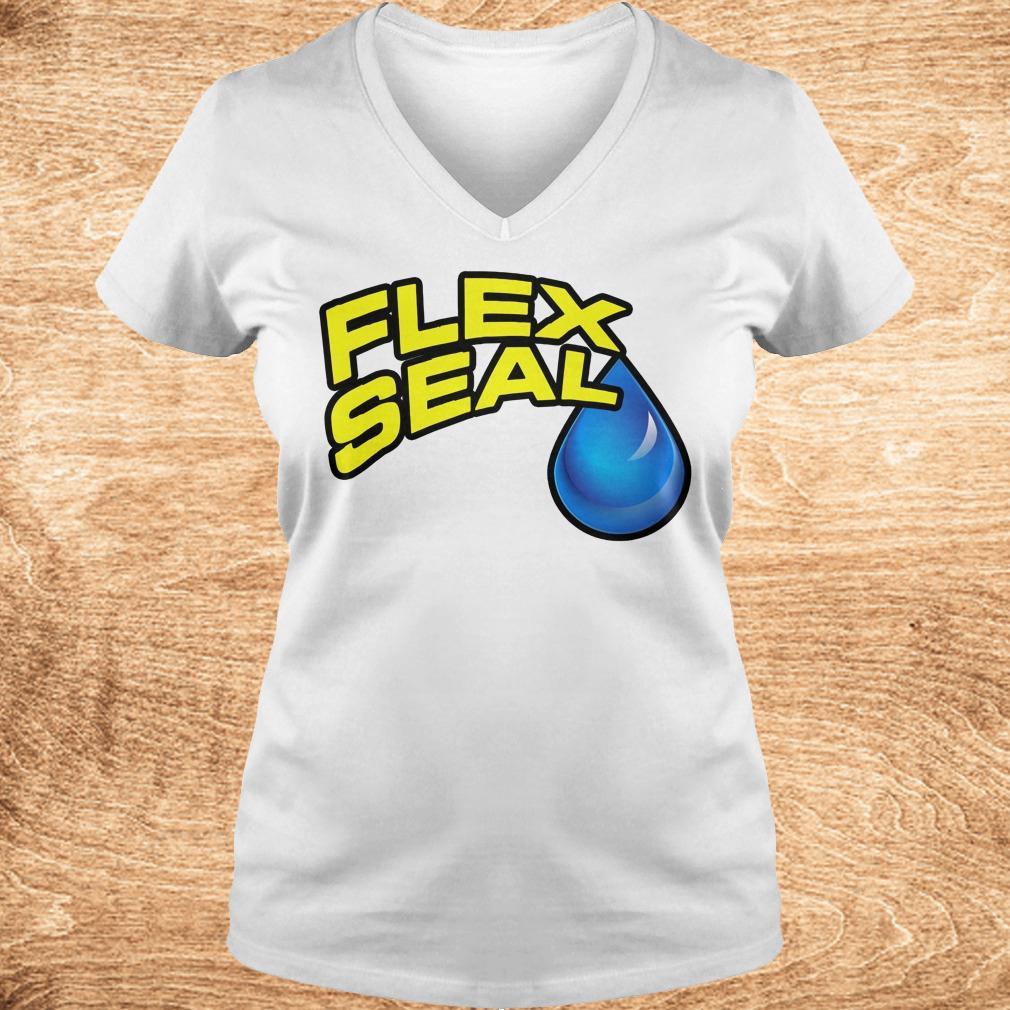 Premium Flex Seal Shirt Ladies V Neck - Premium Flex Seal Shirt