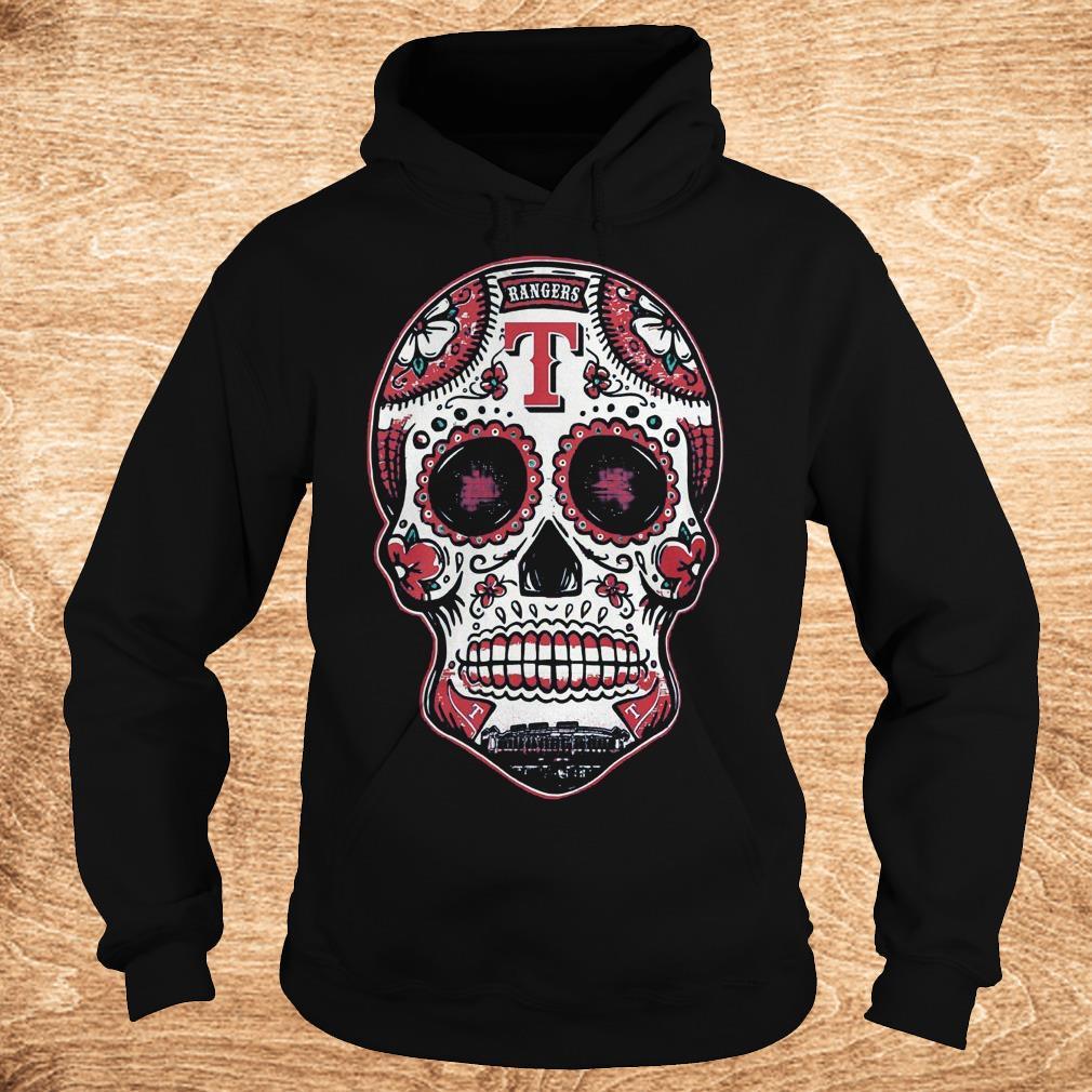 Premium Skull Texas Ranger Shirt Hoodie - Premium Skull Texas Ranger Shirt