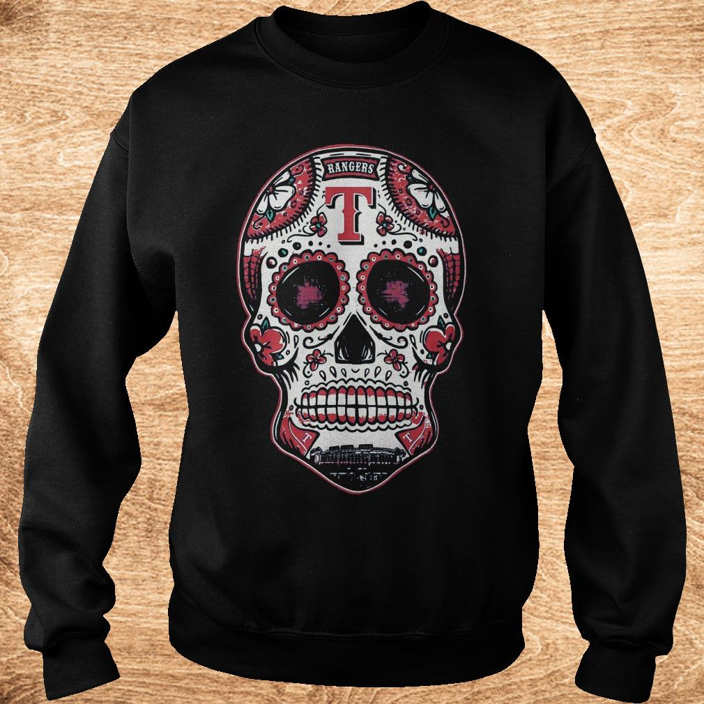 Premium Skull Texas Ranger Shirt Sweatshirt Unisex - Premium Skull Texas Ranger Shirt