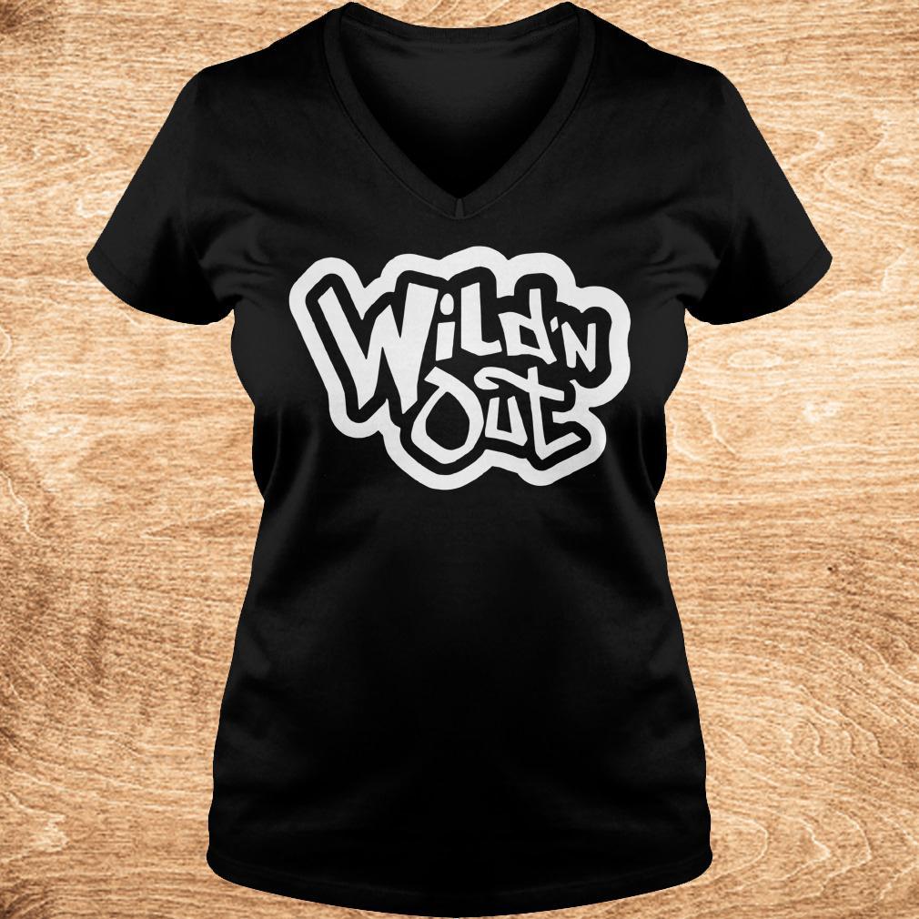 Premium Wild n Out Shirt Ladies V Neck - Premium Wild'n Out Shirt