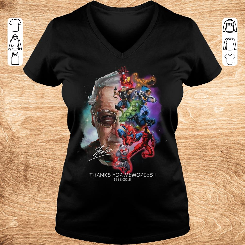 Awesome Stan Lee Father Of Marvel shirt Ladies V Neck - Awesome Stan Lee Father Of Marvel shirt
