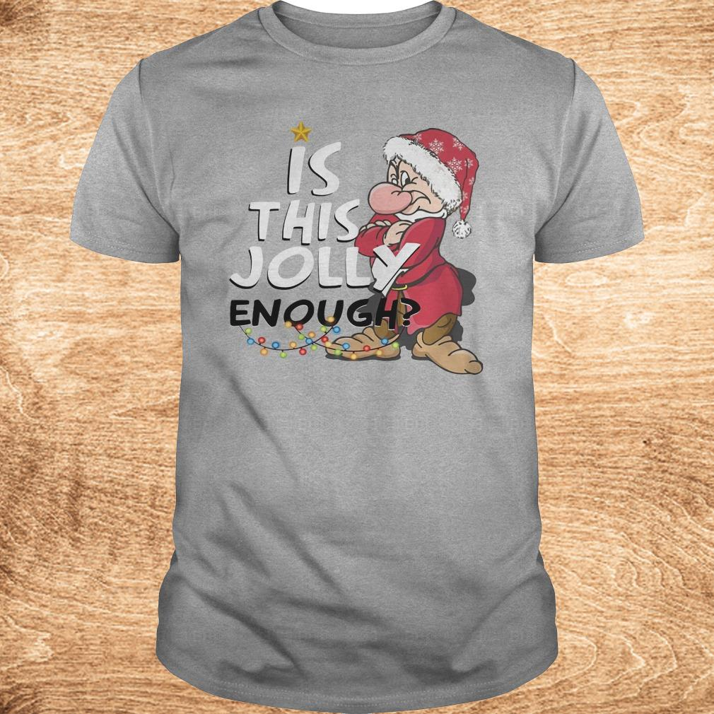 Best price Is this jolly enough shirt Classic Guys Unisex Tee - Best price Is this jolly enough shirt
