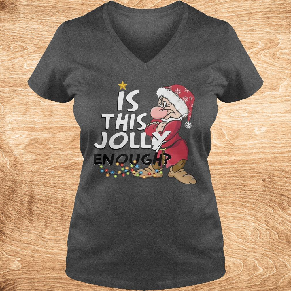 Best price Is this jolly enough shirt Ladies V Neck - Best price Is this jolly enough shirt