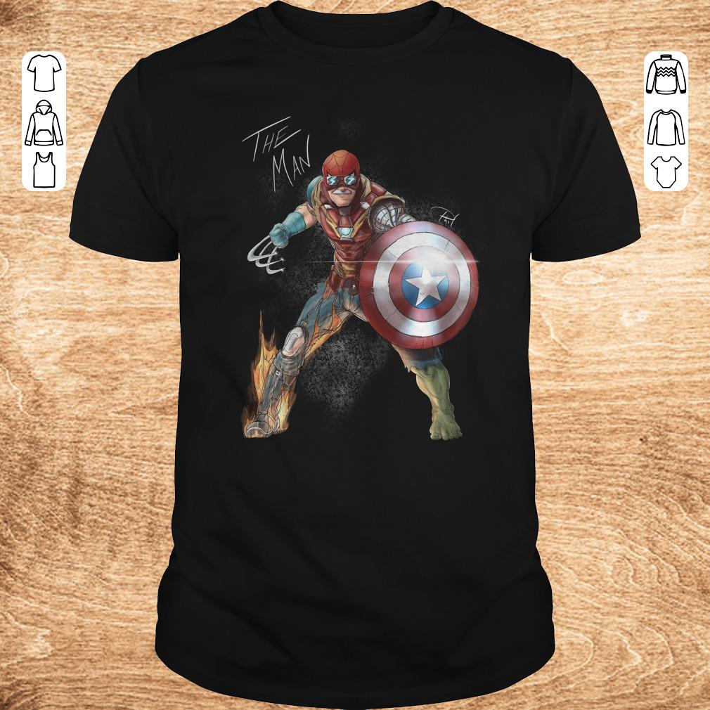 Funny Stan Lee One with his universe shirt Classic Guys Unisex Tee - Funny Stan Lee One with his universe shirt