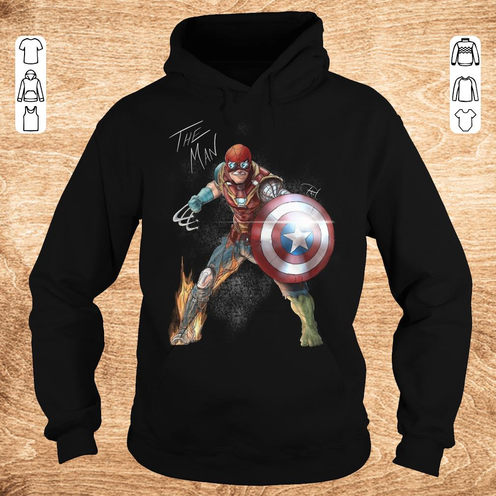 Funny Stan Lee One with his universe shirt Hoodie - Funny Stan Lee One with his universe shirt