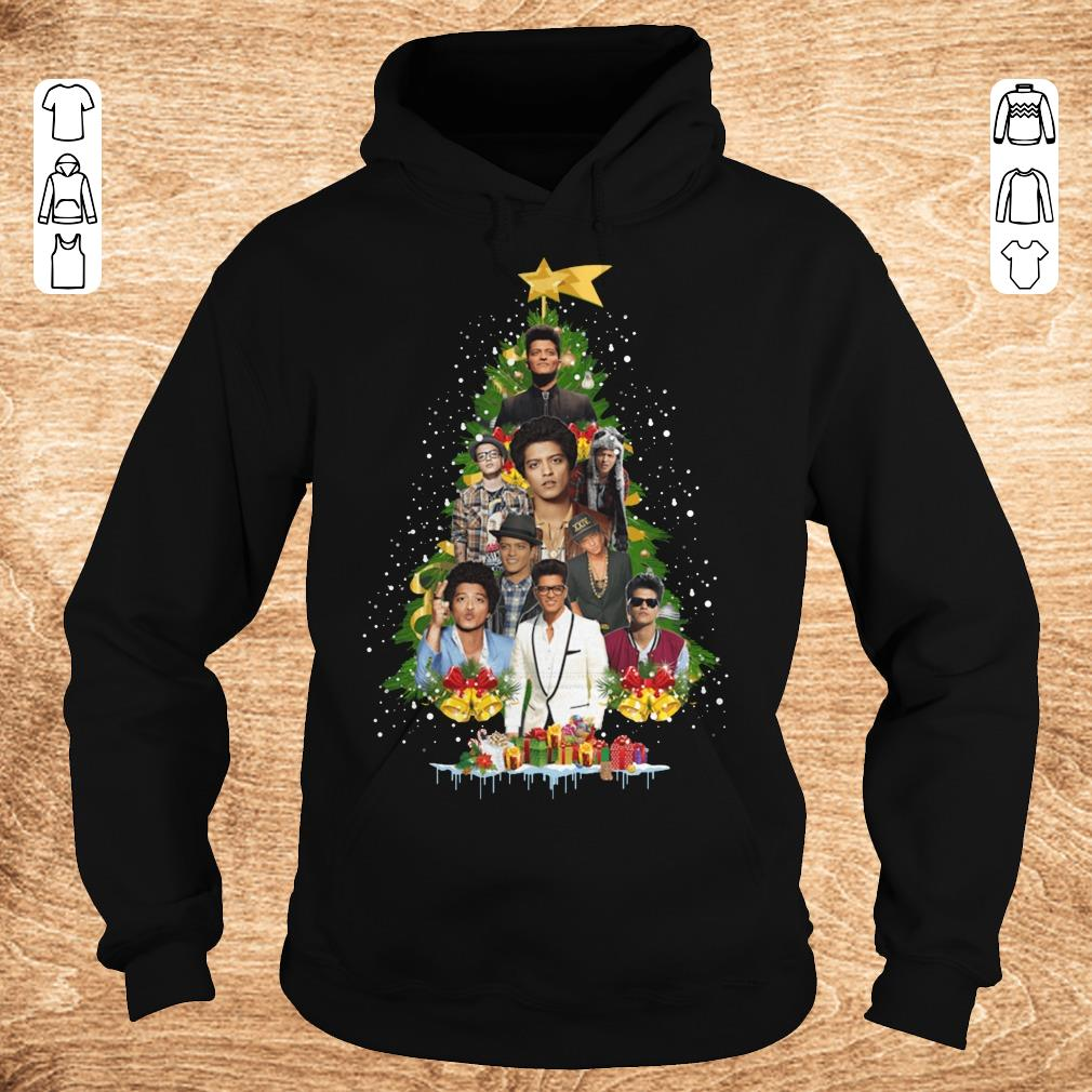 Hot Bruno Mars Christmas tree shirt Hoodie - Hot Bruno Mars Christmas tree shirt