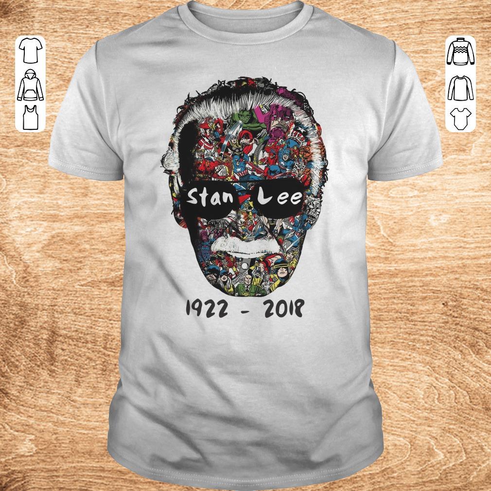 Nice Stan Lee 1922 2018 shirt sweater Classic Guys Unisex Tee - Nice Stan Lee 1922 - 2018 shirt sweater