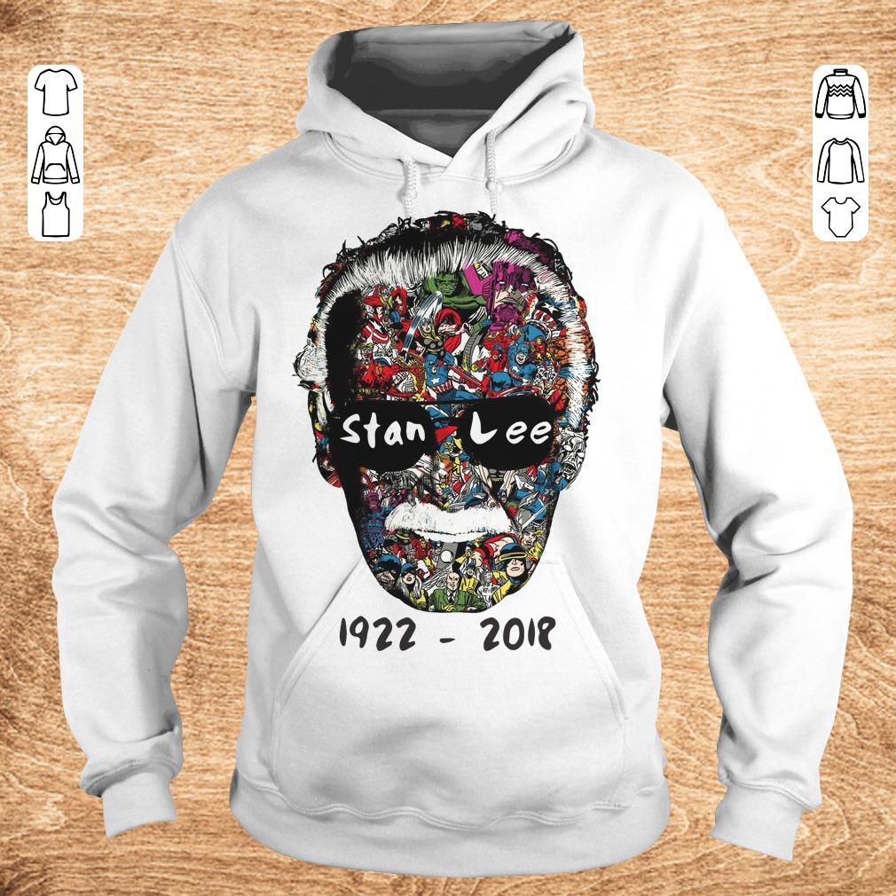 Nice Stan Lee 1922 2018 shirt sweater Hoodie - Nice Stan Lee 1922 - 2018 shirt sweater