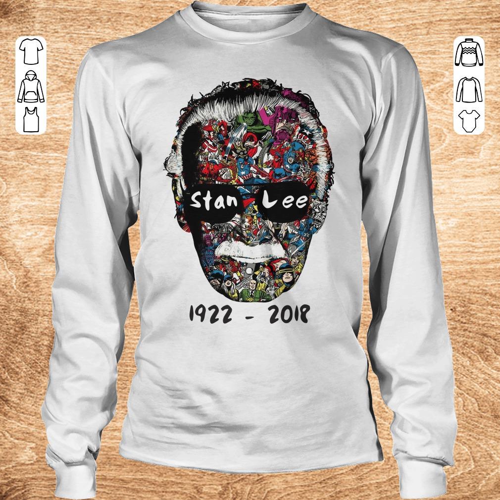 Nice Stan Lee 1922 2018 shirt sweater Longsleeve Tee Unisex - Nice Stan Lee 1922 - 2018 shirt sweater