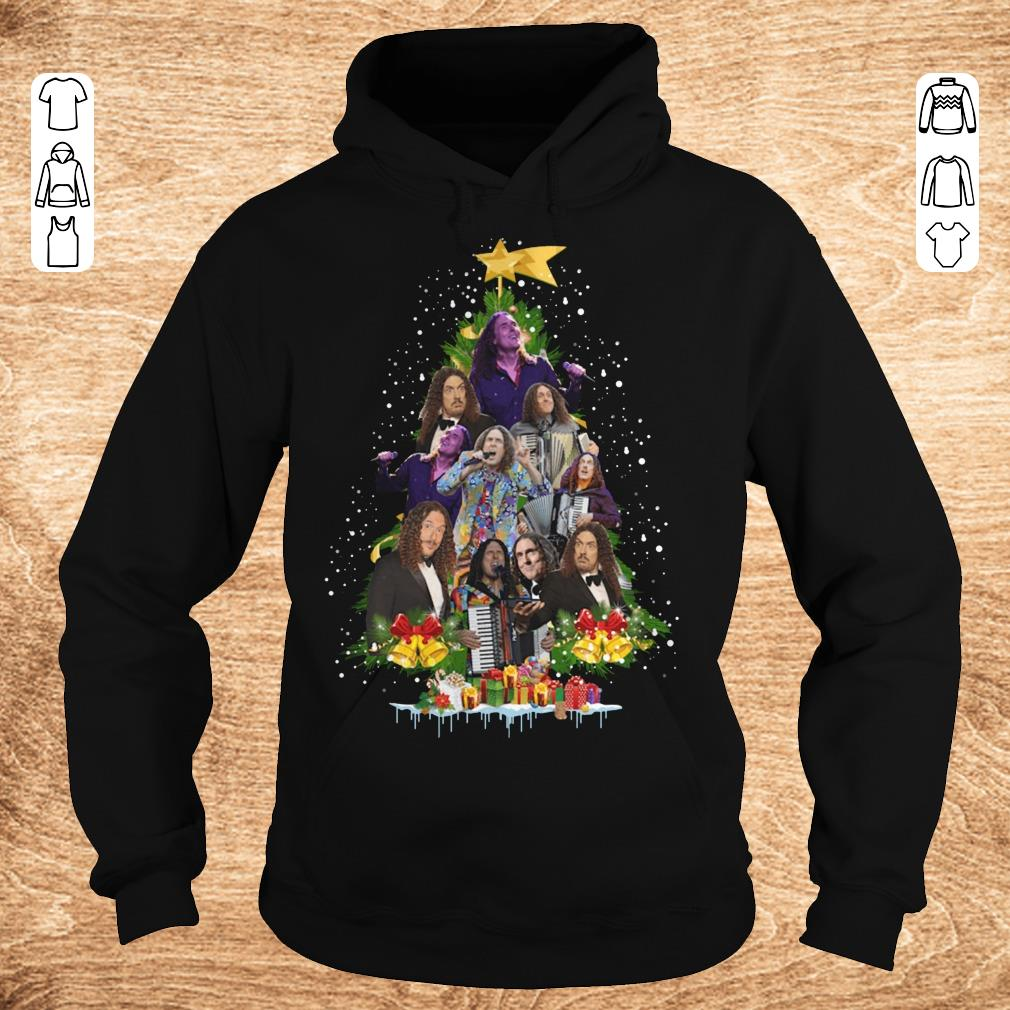 Nice Weird Al Yankovic Christmas tree shirt Hoodie - Nice Weird Al Yankovic Christmas tree shirt