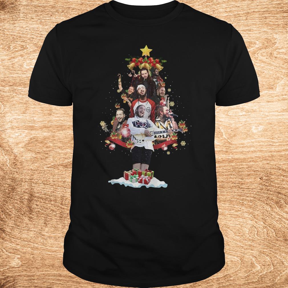 Official Malone Christmas tree sweatshirt