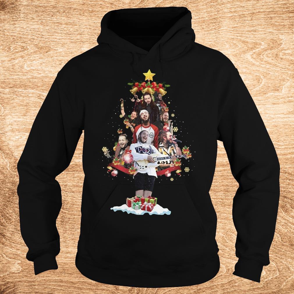 Official Malone Christmas tree sweatshirt Hoodie - Official Malone Christmas tree sweatshirt