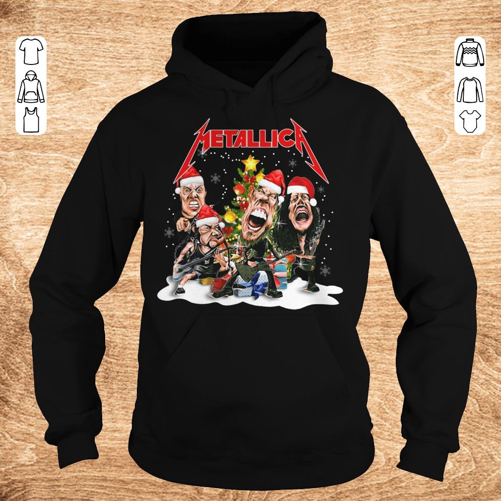 Official Metallica Christmas tree shirt Hoodie - Official Metallica Christmas tree shirt