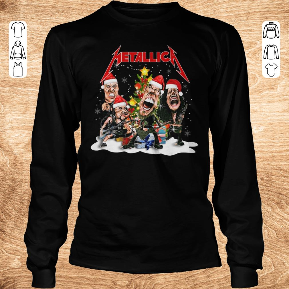 Official Metallica Christmas tree shirt Longsleeve Tee Unisex - Official Metallica Christmas tree shirt