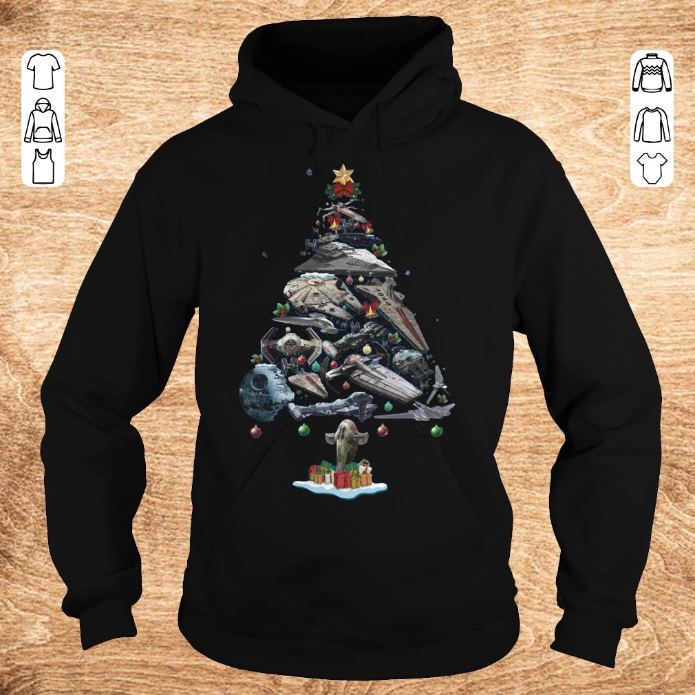 Official Spaceship Christmas Tree Shirt Hoodie.jpg