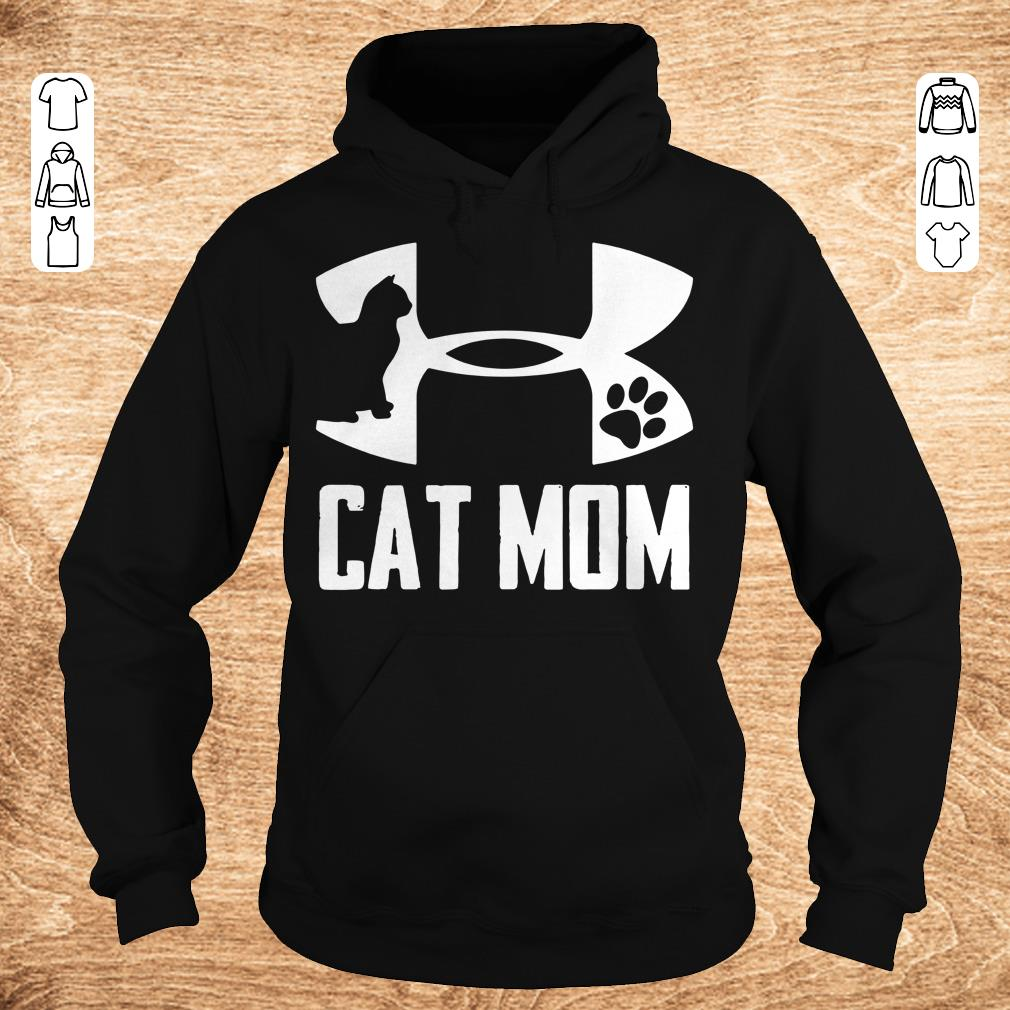 Official Under Armour Cat paw Mom shirt Hoodie - Official Under Armour Cat paw Mom shirt
