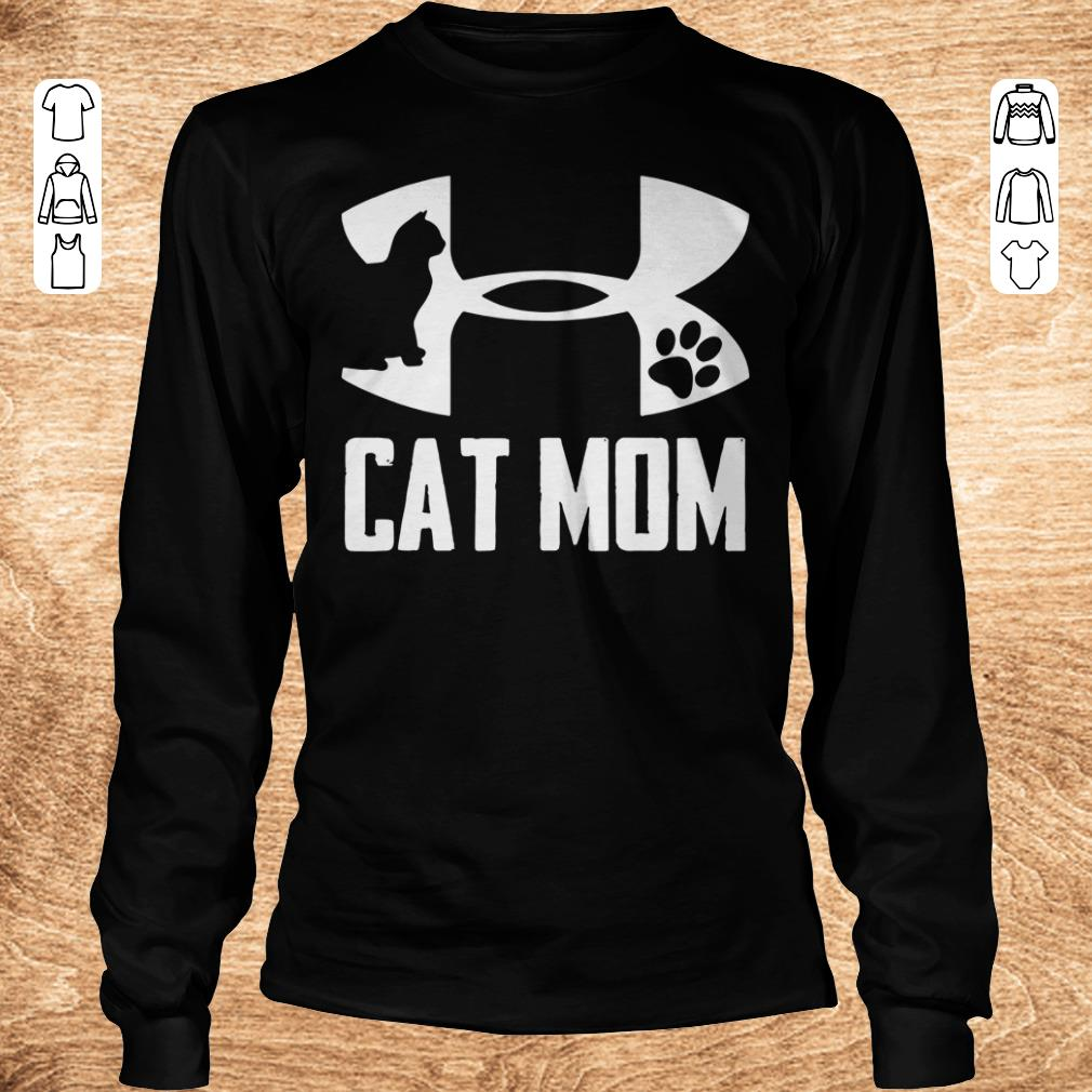 Official Under Armour Cat paw Mom shirt Longsleeve Tee Unisex - Official Under Armour Cat paw Mom shirt