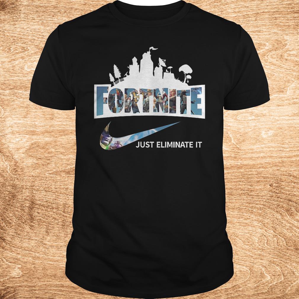 Original Fortnite just eliminate it shirt Classic Guys Unisex Tee - Original Fortnite just eliminate it shirt