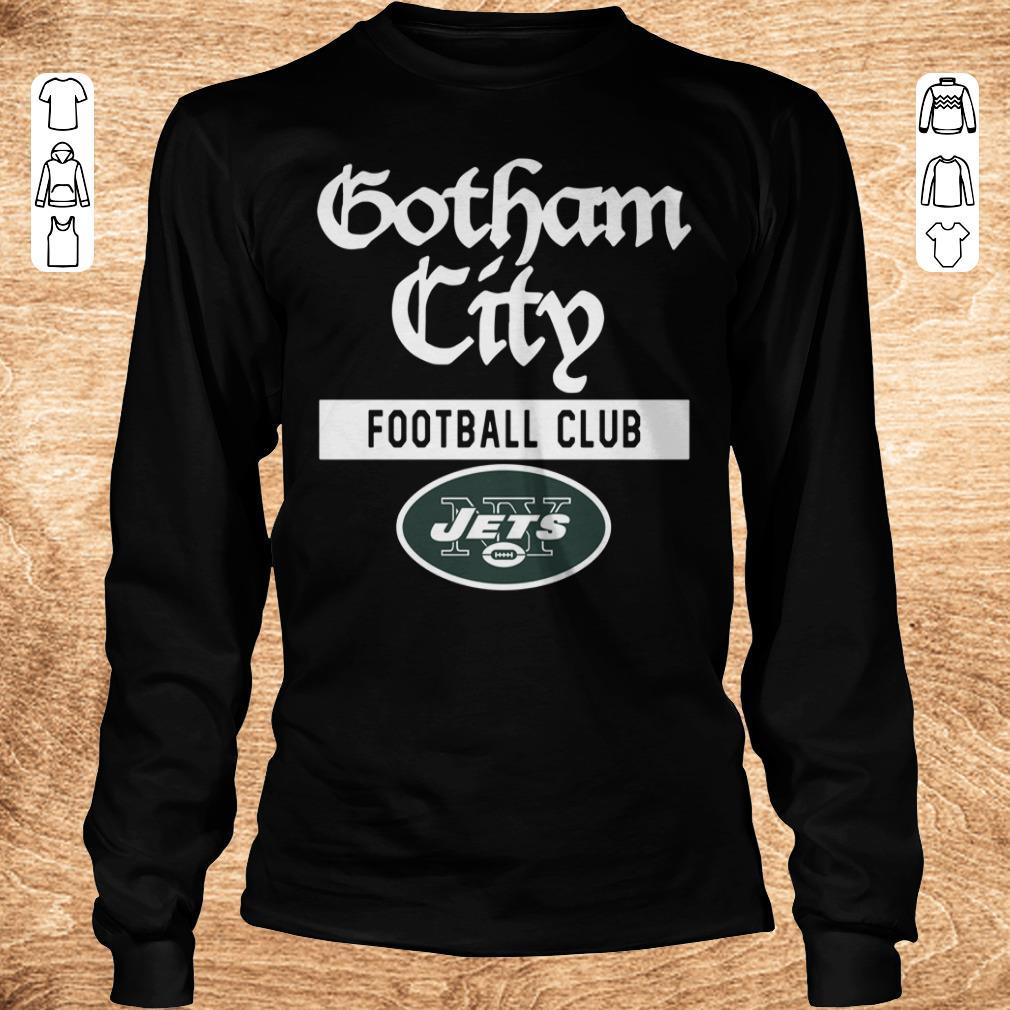 Original New York Jets Gotham City Football club shirt Longsleeve Tee Unisex - Original New York Jets Gotham City Football club shirt