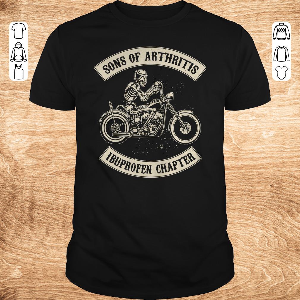 Original Sons of arthritis Ibuprofen chapter shirt longsleeve Classic Guys Unisex Tee - Original Sons of arthritis Ibuprofen chapter shirt longsleeve
