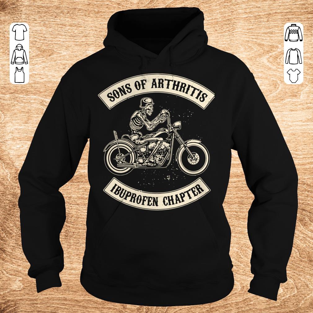 Original Sons of arthritis Ibuprofen chapter shirt longsleeve Hoodie - Original Sons of arthritis Ibuprofen chapter shirt longsleeve
